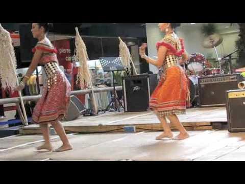 Traditional Dance - Ngajat Iban from Sarawak