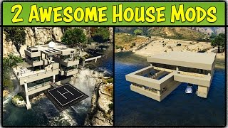 Ex Machina Mansion & Lake House in GTA 5! (Mod Showcase #24) [GTA V]