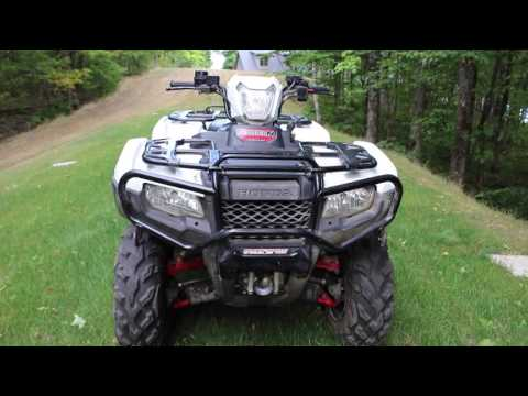 2015 HONDA FOREMAN RUBICON 500  REVIEW - UPDATED!!!