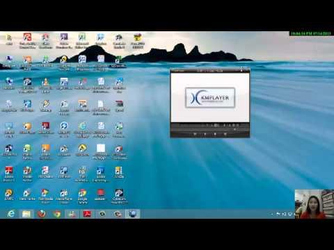 การใช้โปรแกรม KM Player