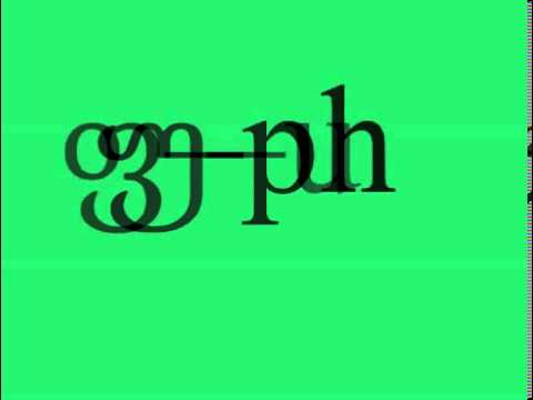 georgian alphabet pronunciation