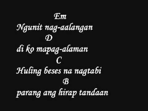 Gloc 9 Hindi Mo Nadinig Ft  Jay Durias Lyrics And Chords