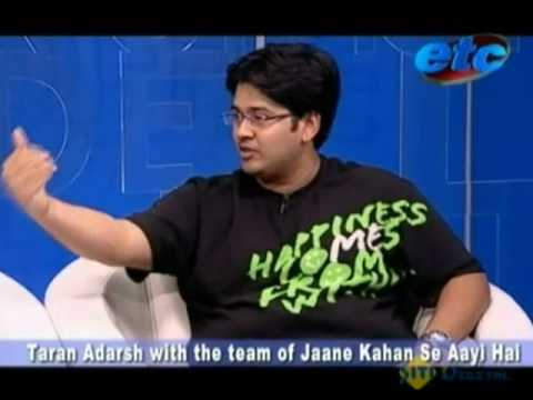 Taran Adarsh with the team of  'Jaane Kahan Se aayi Hai' Part - 2