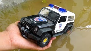 Learn Colors Police Car for Children and Assembling Vehicle for Toddlers