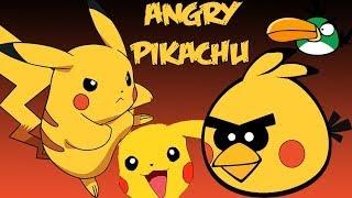 Angry Pikachu(angry birds meet pikachu)parody