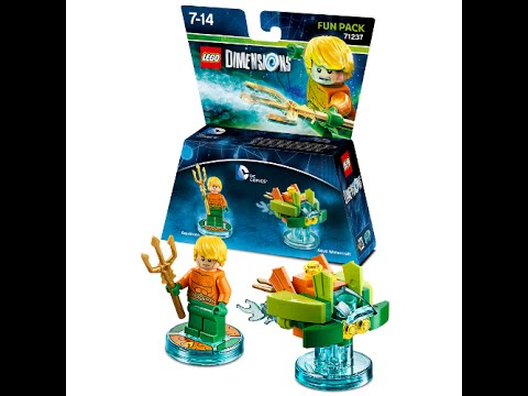 Unboxing of aquaman fun pack (from Lego detentions)