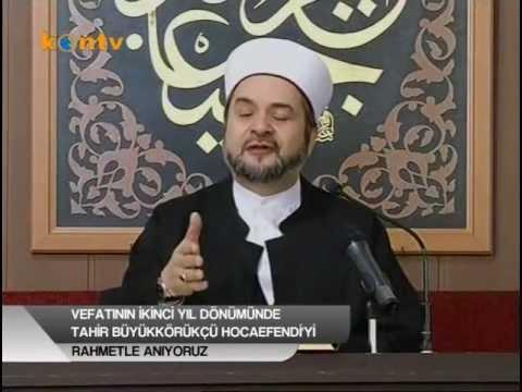 Tahir Büyükkörükçü Hocaefendi'yi Anma Programı (05-03-2013)