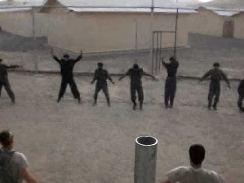 Afghan National Army Physical Training