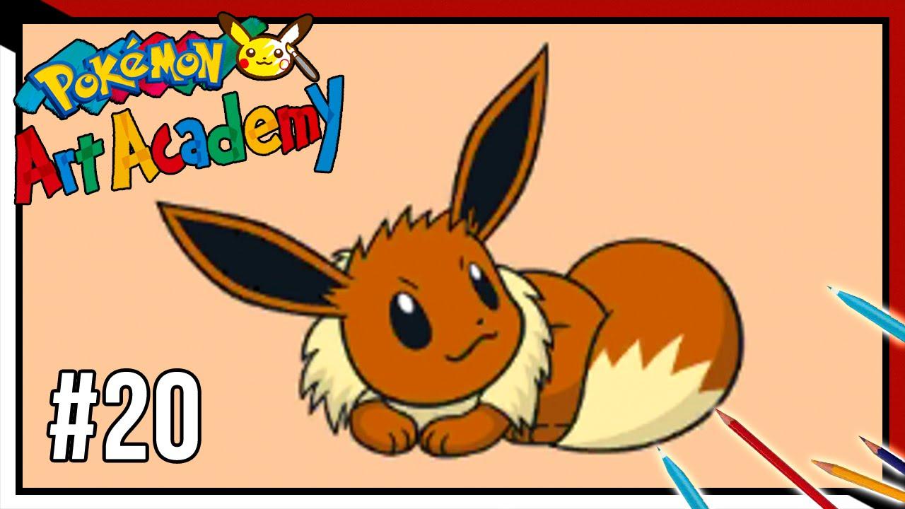 Pokemon Art Academy Eevee Pokémon Art Academy Lezione