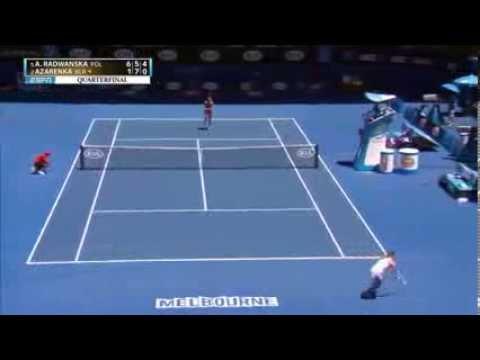 Agnieszka RADWANSKA   Victoria AZARENKA HIGHLIGHTS Australian Open 2014