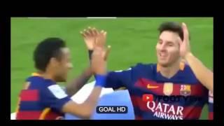barcelona vs grenada 4-0  all goals MESSI HATTRICK and neymer La Liga 2016