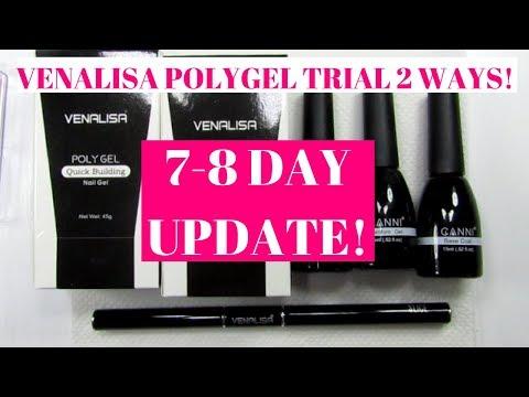 Venalisa Polygel Trial 2 Ways UPDATE!