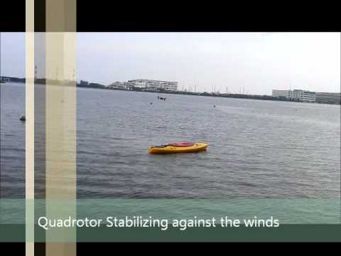 Autonomous Landing of Quadrotor Parrot AR Drone on a Kayak