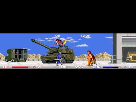 The Ninja Warriors arcade 2 player Netplay 60fps