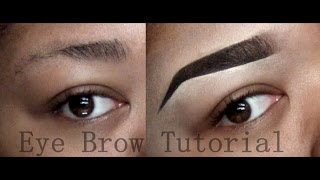My Eyebrow Tutorial! (Thick, Sharp, Clean Brows)