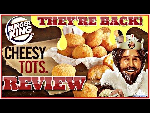 BURGER KING® | CHEESY TOTS™ REVIEW | THEENDORSEMENT thumbnail