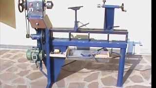 Tornio fai da te modificato viyoutube for Costruire tornio legno