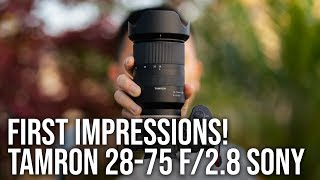 Tamron 28-75mm f/2.8 + Sony a7III - REAL WORLD WEDDING SAMPLE FOOTAGE (UPDATE IN DESCRIPTION BOX)