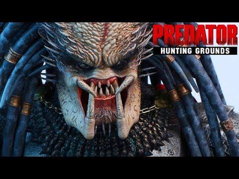 Predator Hunting Grounds Gameplay German - Der Predator chillt