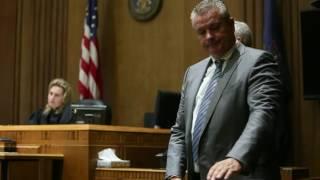Kalamazoo psychologist David Thayer listens to victim impact statements