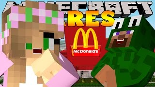 Minecraft Dares - THE MCDONALDS PRANK WITH LITTLE KELLY!