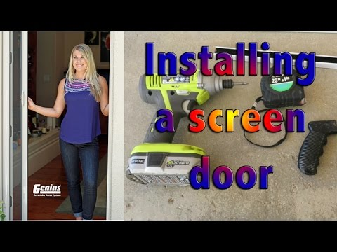 Costco Genius Screen Door Install Tips