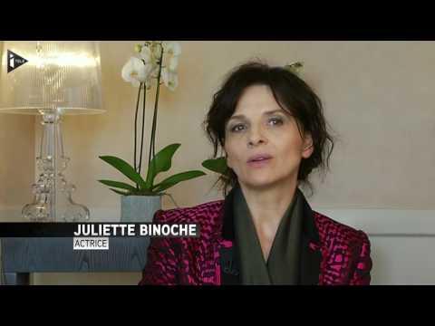 "Juliette Binoche : ""Je suis née ici comme actrice"""