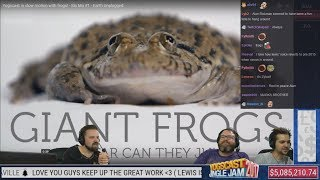 Simon, Lewis and Turps Reacts to Epic Jaffa Time and Earth Unplugged with Twitch Chat