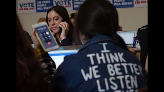 March for Our Lives team use phone bank to influence youth vote on Election Day