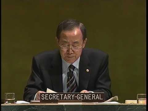 Development: Inaction risks slipping into degradation (Ban Ki-moon)