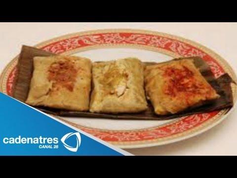 Tamales en hoja de plátano / Receta para preparar tamales