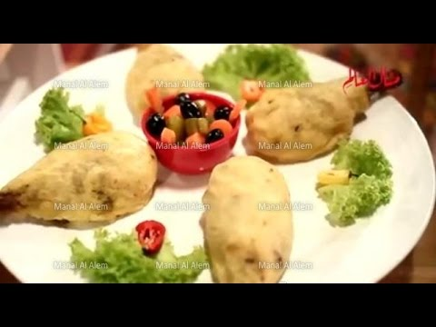 موزات الغنم بالبطاطس البورية - مطبخ منال العالم