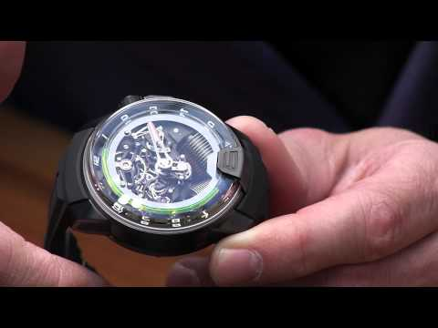 HYT H2 Watch Presented By CEO Vincent Perriard