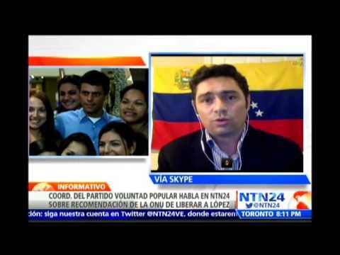 Decisión de la ONU sobre caso de Leopoldo López es