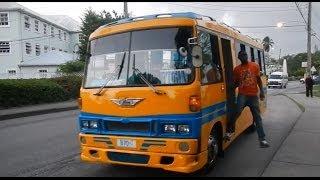 Barbados Reggae Bus