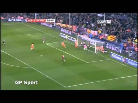 Liga BBVA I FC Barcelona - Getafe 2:1 I#1 Liga I #1 Połowa Skrót 19-03-2011 I HD