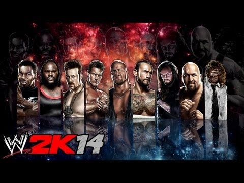 WWE 2K14 ROSTER (ALL STARS ENTRANCES)