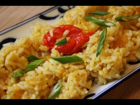 How To Make Pumpkin Rice.