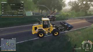 FINAL TREE REMOVAL FROM THE HOUSE - LOGGING ON THE FARM  MIDWEST HORIZON EP8   FS19 RP