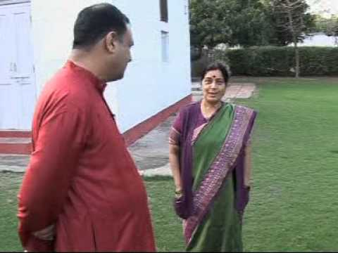 Sushma Swaraj Interview