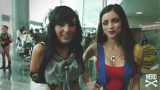 Anime Revolution Part 1 - I Love Nerd Girls - LeeAnna Vamp & Jessica Nigri