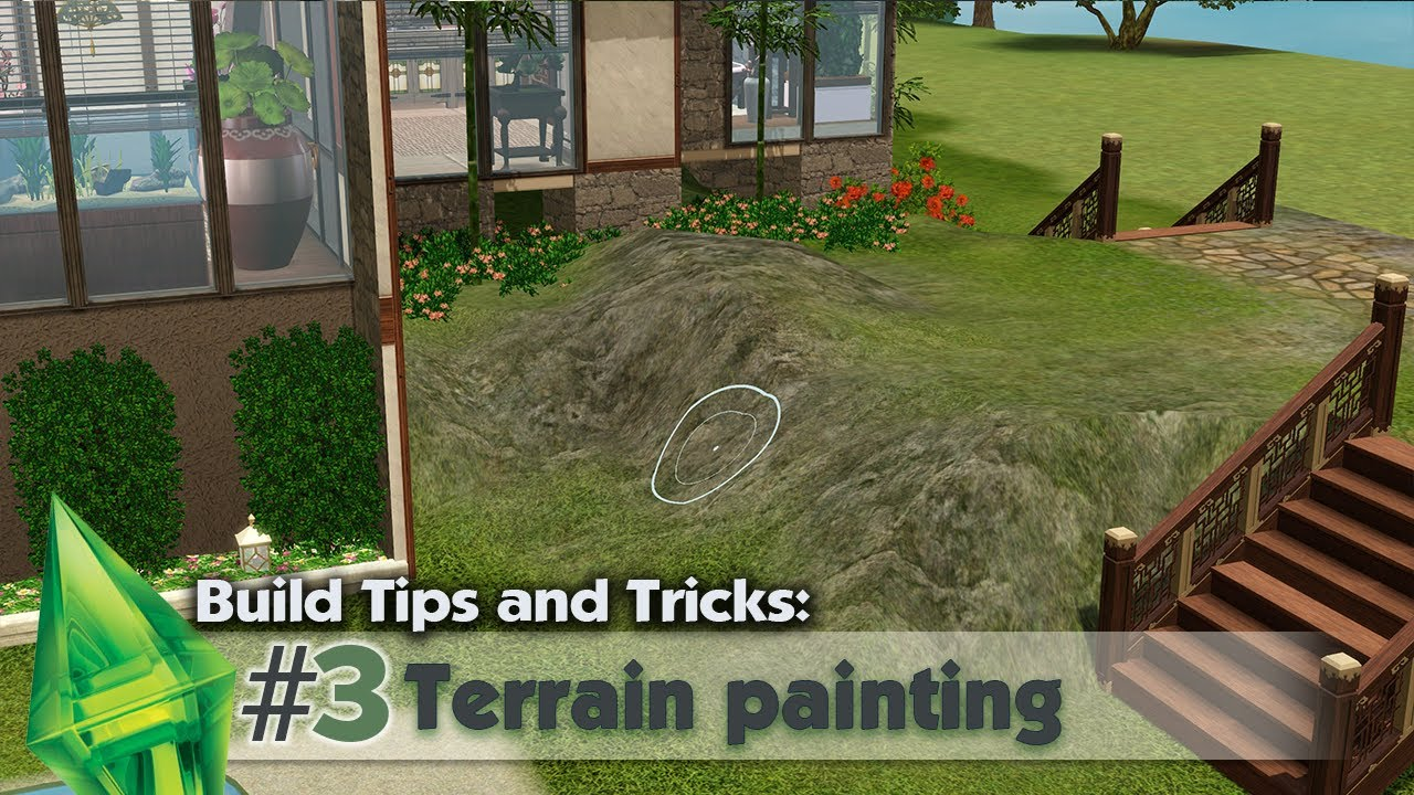 The sims 3 building tips and tricks 3 terrain for Construction tips and tricks