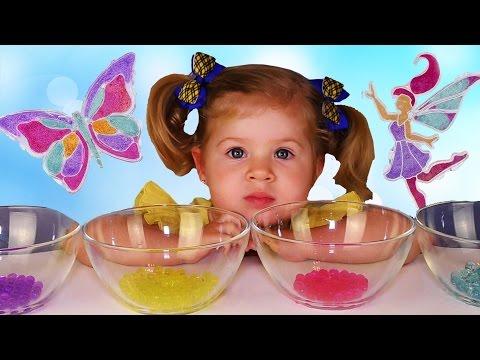 ✿ Новый ОРБИЗ КРАШ Бабочка и Фея Обзор New Orbeez Crush Butterfly and Fairy Orbeez Playset toy
