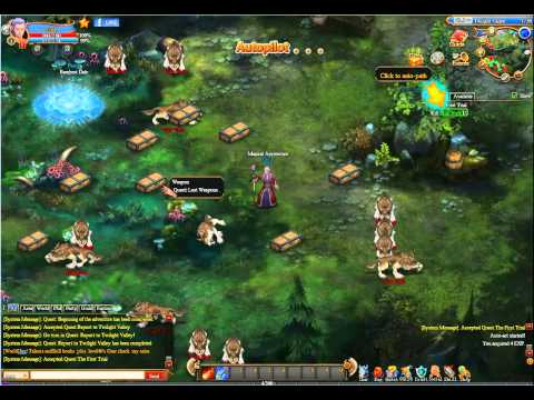 Facebook Games - Dragon Born Online.