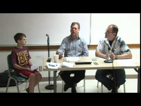 8th grade atheist asks about God's omniscience (debate excerpt)