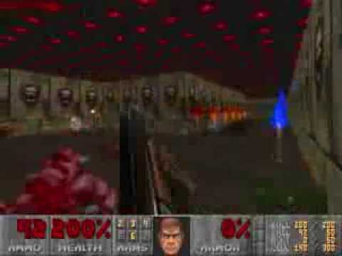 Pauls Gaming - Doom2 map - BADBLU32
