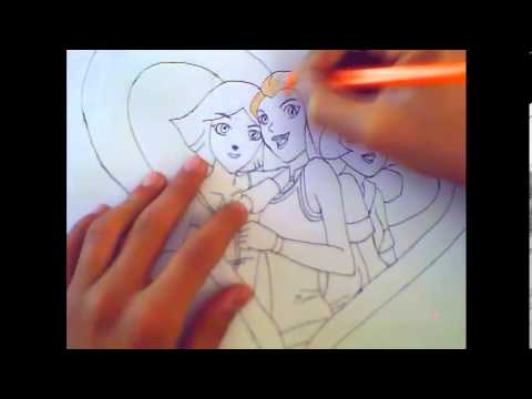 Видео как нарисовать Тотали Спайс