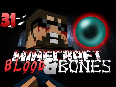 Minecraft FTB Blood and Bones 31 - ENDER PEARLS!