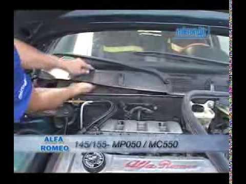 Alfa-Romeu como trocar o filtro de ar condicionado cabine