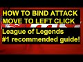 Frame from How to Bind Attack Move to Left Click - FULL EXPLANATION - League of Legends